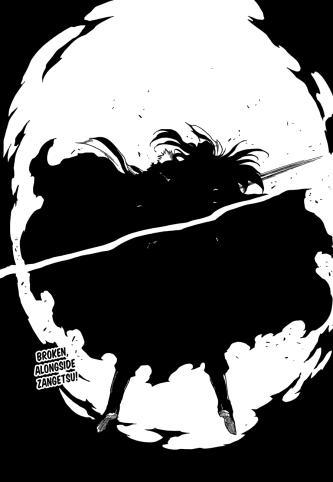 Ichigo strikes Yhwach