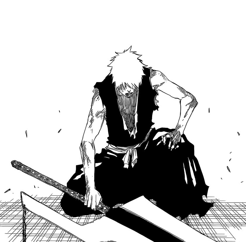 Ichigo's Ready to Fight
