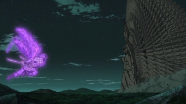 Indra Susanoo vs Ashura Thousand Hands
