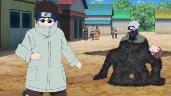 Kakashi captured