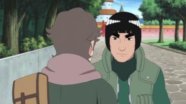 Kakashi looks at Sukea