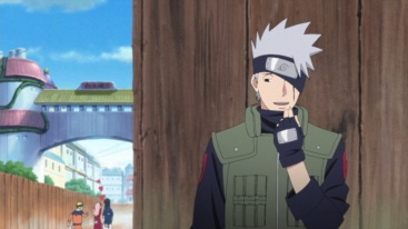 Kakashi with Team 7