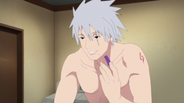 Kakashi's Real Face