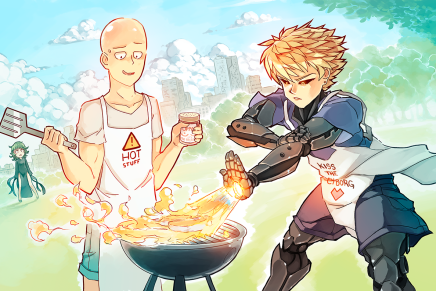 Hero-Level Cooking – Saitama and Genos