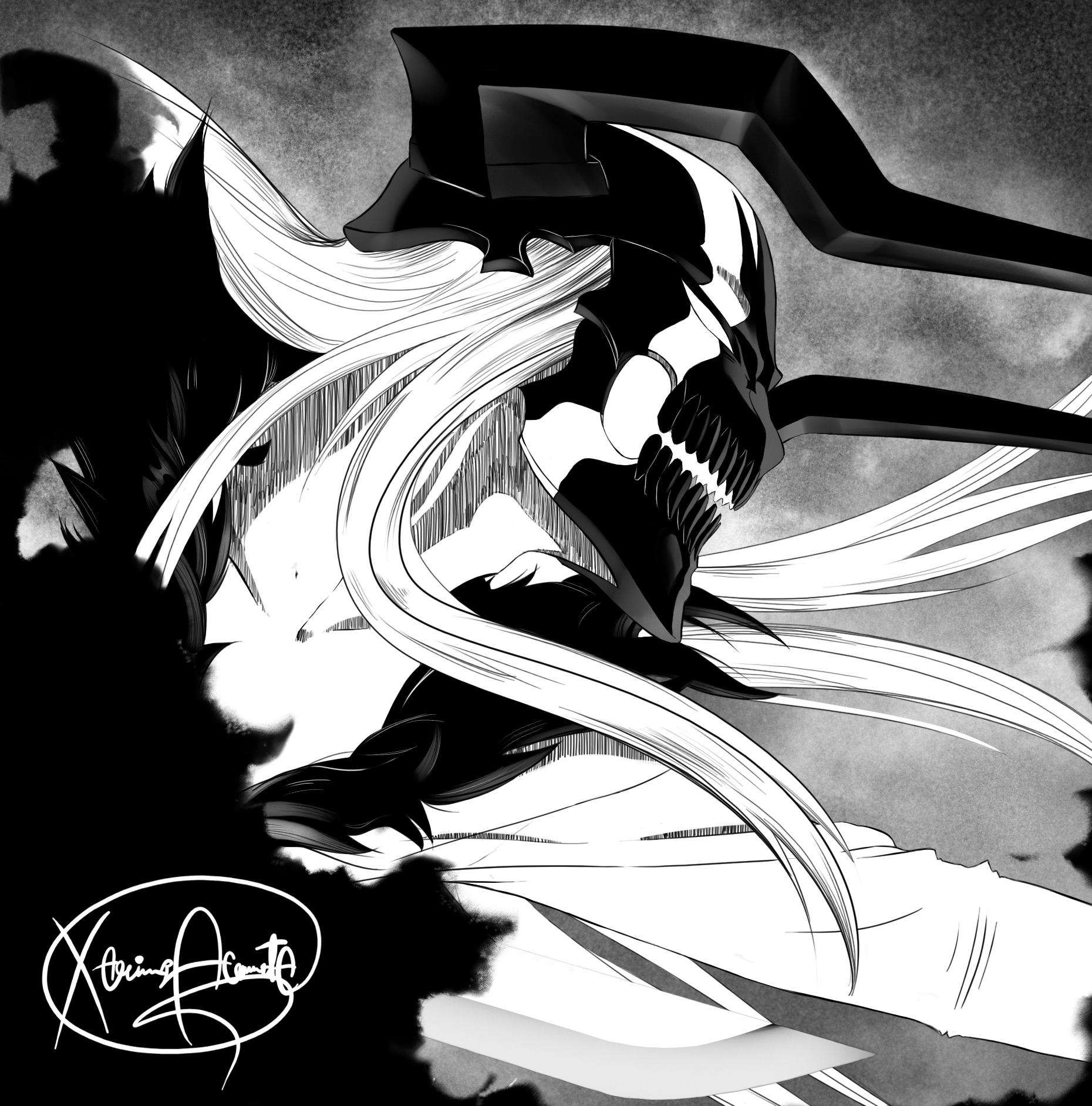 the wretched ichigo s vasto lorde daily anime art