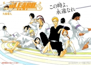Bleach colour page