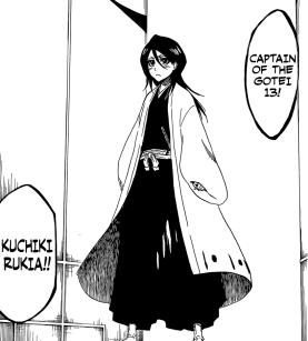 Captain Rukia Kuchiki