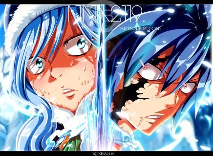 Gray vs Invel! Ice Devil Magic – Fairy Tail498