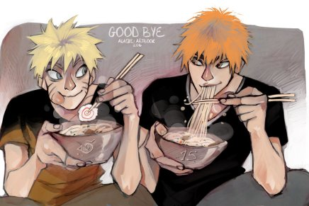Goodbye – Naruto and Ichigo