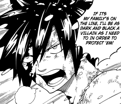 Gray to protect Fairy Tail