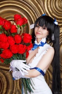 Hestia Flowers Cosplay By Disharmonica