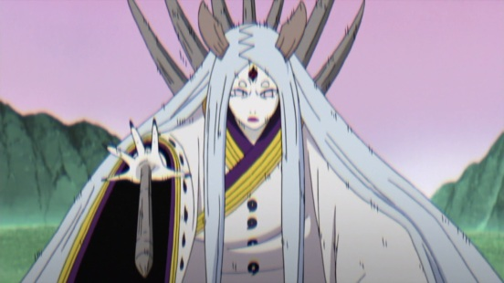 Kaguya about to attack