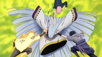Naruto Sasuke Sakura defeat Kaguya