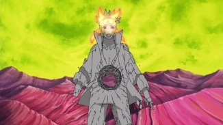 Naruto turns into dust