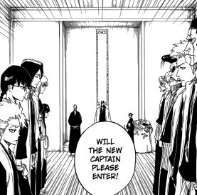 New Captain Ceremony for Rukia