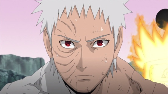 Obito near death