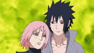 Sakura saves Sasuke