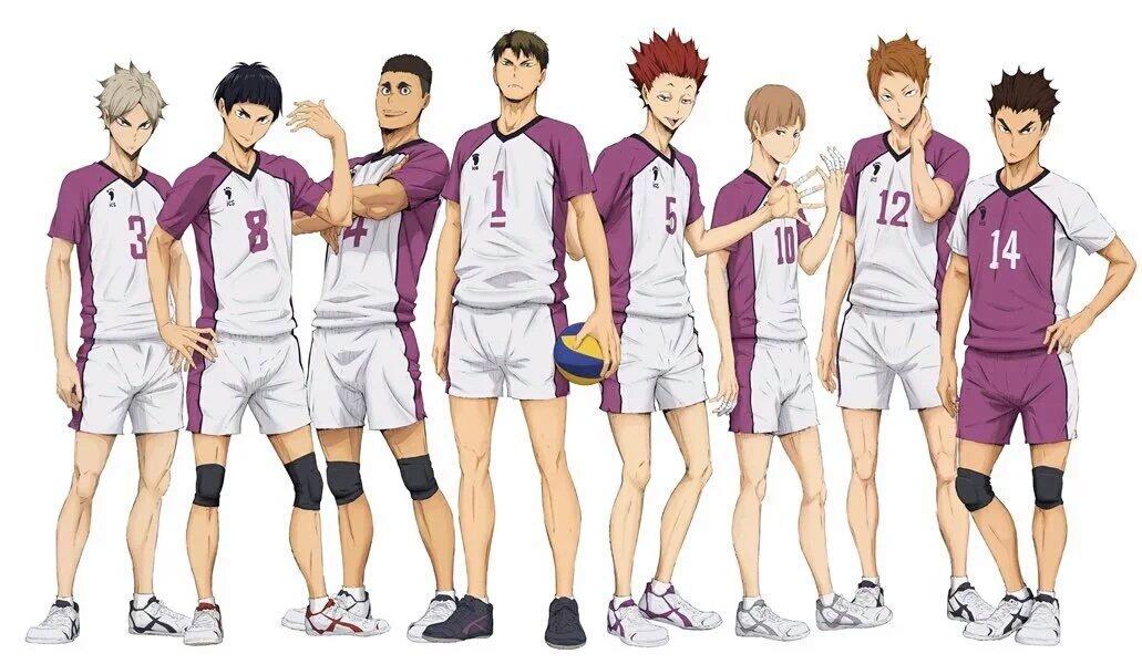 Shiratorizawa Academy Haikyuu
