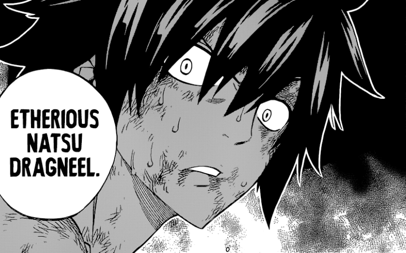 Gray learns of END Etherious Natsu Dragneel