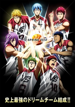 Kuroko's Basketball The Movie Last Game Poster