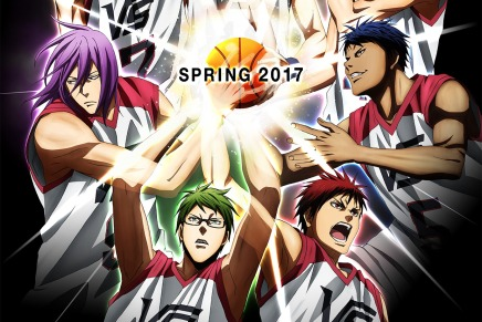 Kuroko's Basketball The Movie: Last Game Premiers Spring 2017