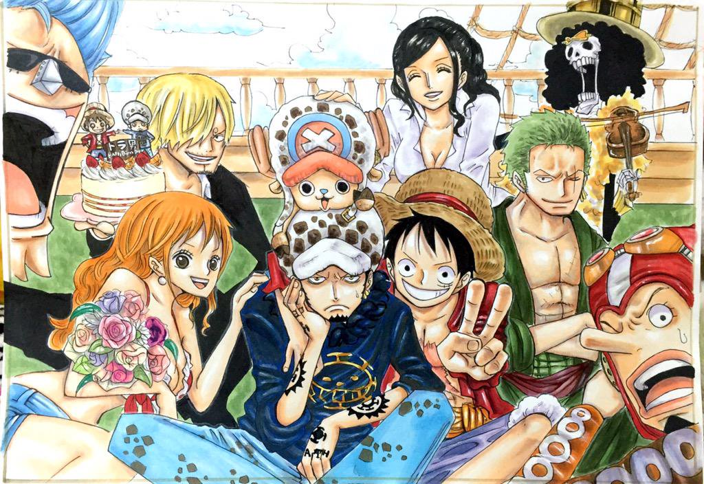 the thing about one piece� part 2 daily anime art
