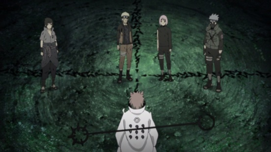 Naruto and others back