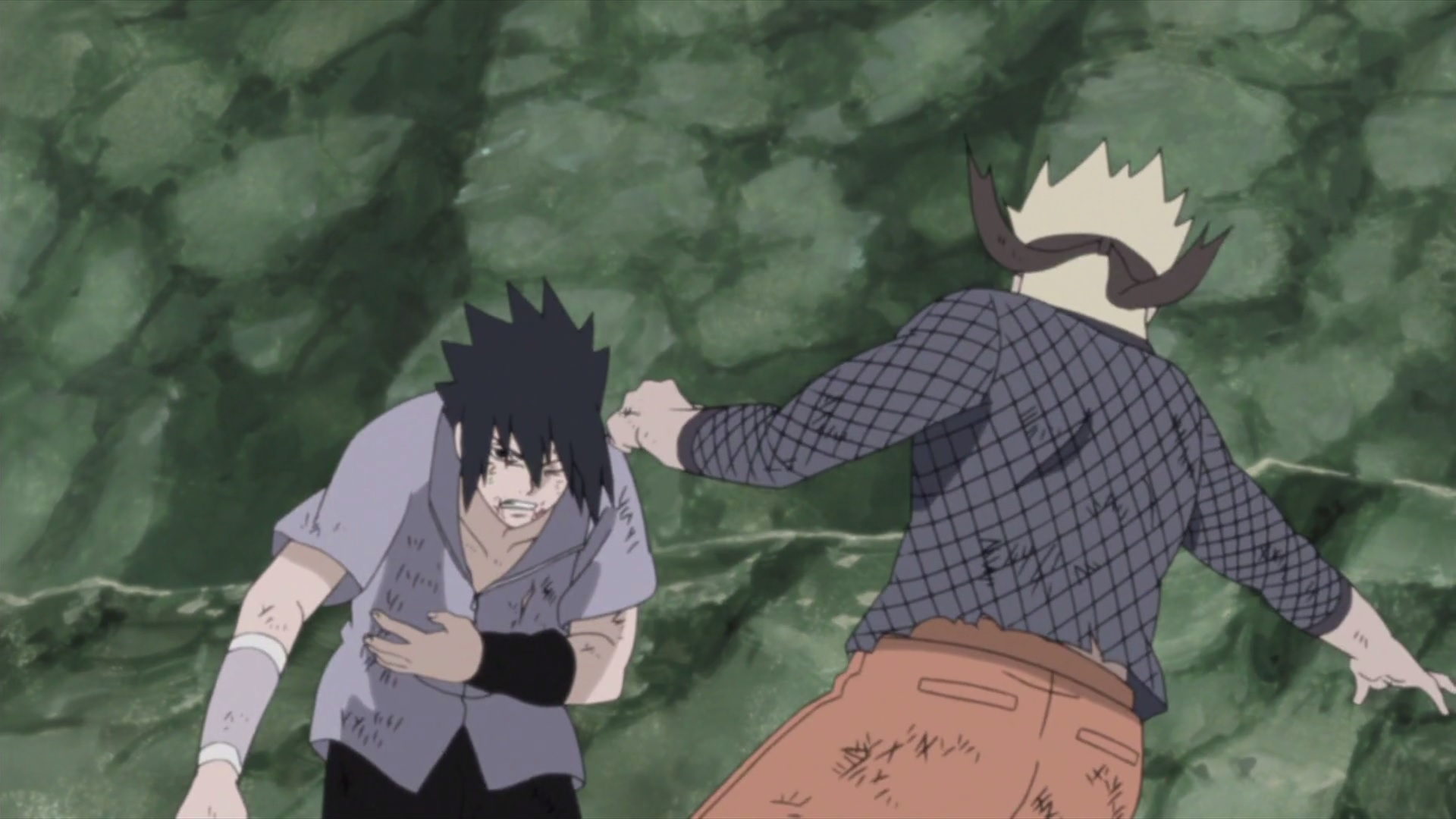 Naruto And Sasuke Fight Daily Anime Art
