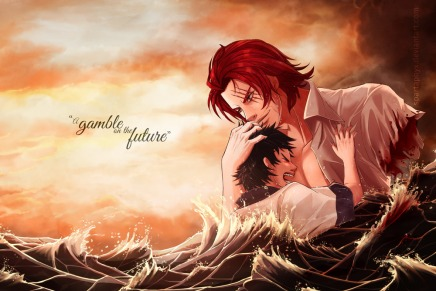 A Gamble on the Future – Luffy and Shanks
