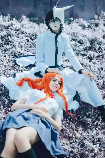 orihime-and-ulquiorra-cosplay-by-inukami33