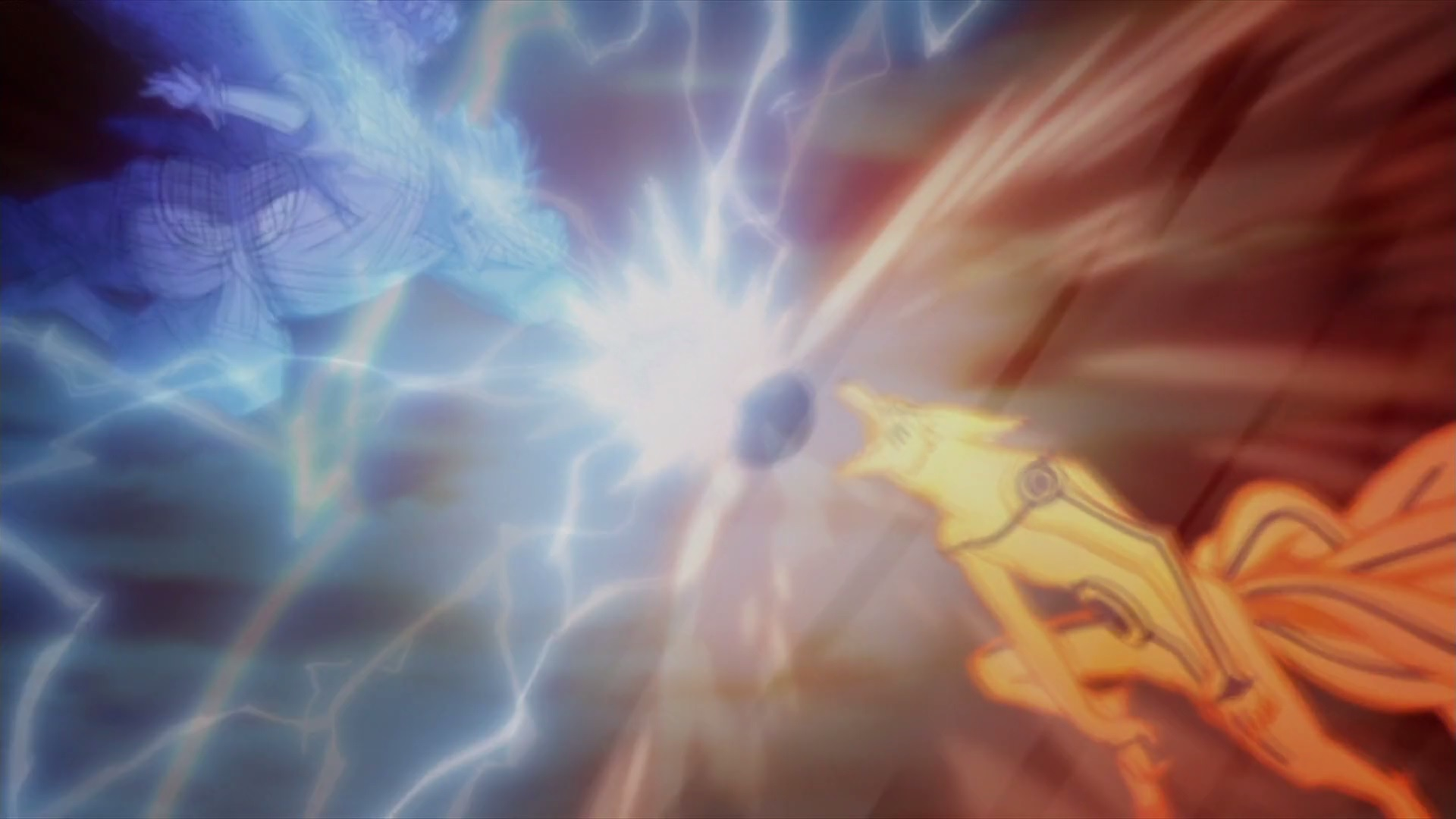 Sasuke Vs Naruto Susanoo Vs Kurama Daily Anime Art