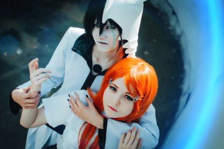 Cosplay: Orihime and Ulquiorra