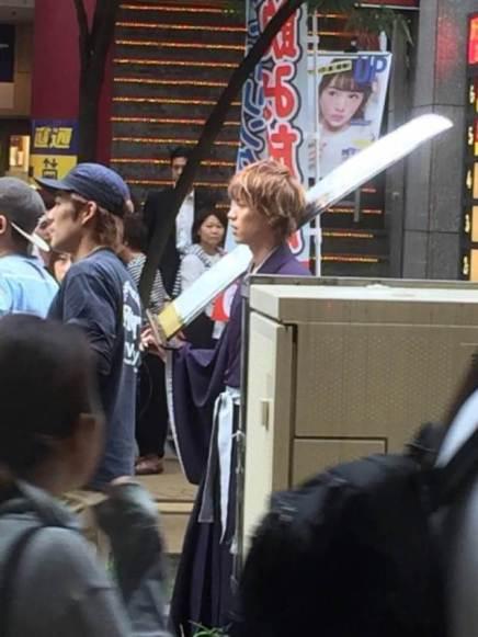 Bleach Live-Action Movie Ichigo CostumeLeak