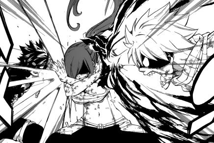 Makarov's Death! Erza Stops Natsu vs Gray – Fairy Tail506