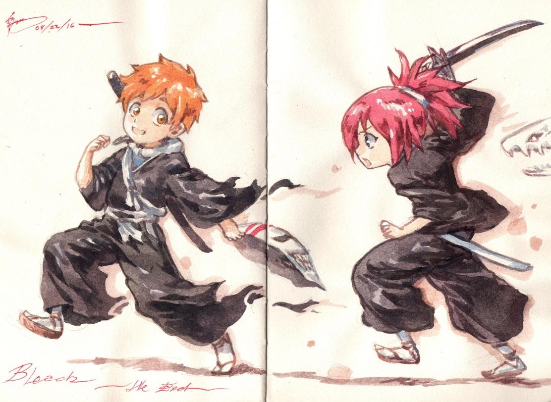 bleach-ichika-kazui-by-nick-ian