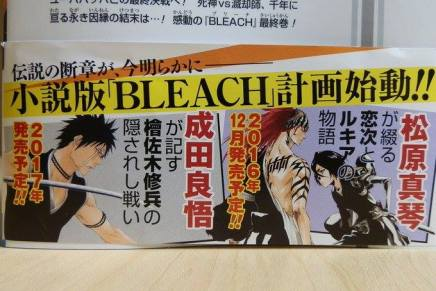 New Bleach Novels Planned For December and 2017