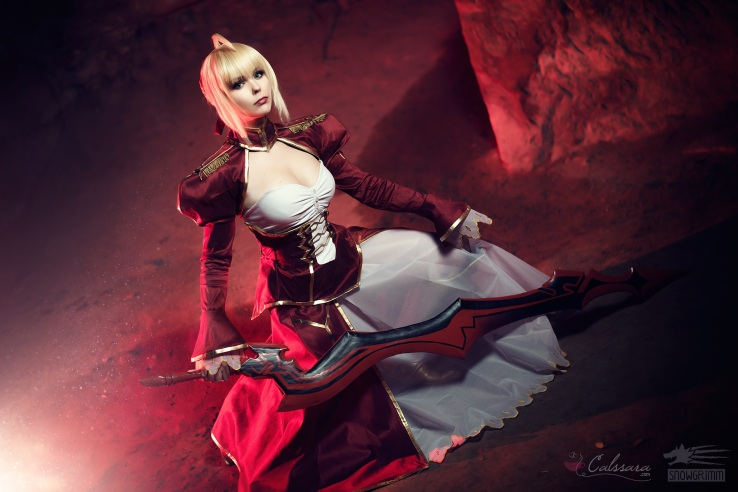 cosplay-saber-nero-fate-extra-by-calssara