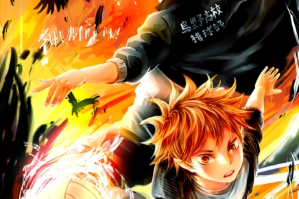 Flying Crows – Hinata and Kageyama