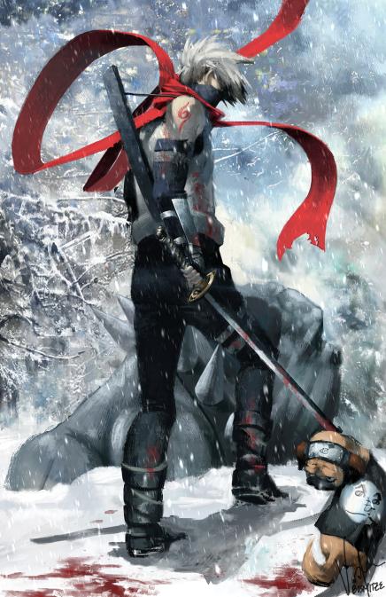 Ice Shinobi – KakashiHatake