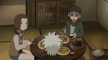 kakashi-makes-food-for-rin-and-obito