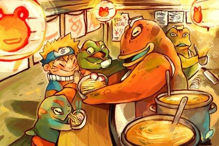 Froggy Ramen – NarutoUzumaki