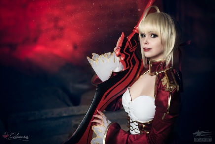 Cosplay: Saber Nero(Fate/Extra)