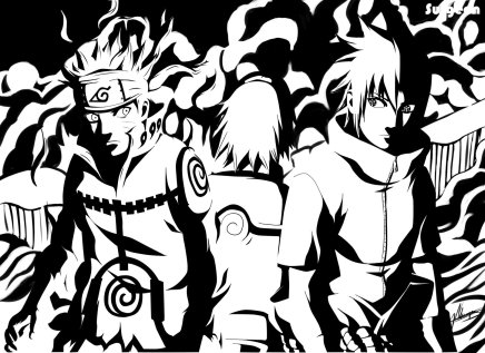 A Team Of Three – Naruto, Sasuke and Sakura