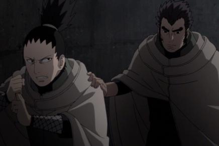 Sai's Betrayal! Trapped Shikamaru – Naruto Shippuden491