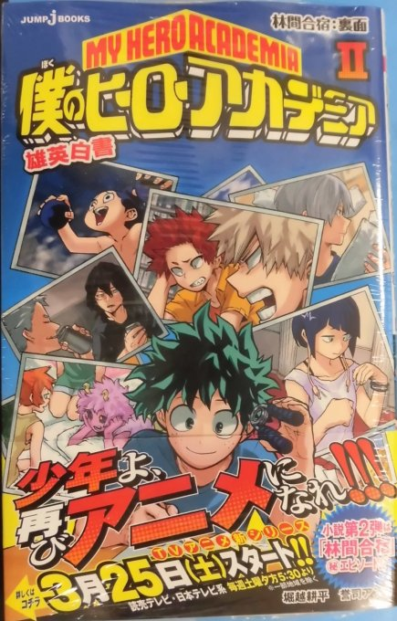 My Hero Academia Anime 2nd Season Premiers 25th March