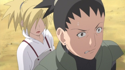 Shikamaru and Temari's Date! Food Pills – Naruto Shippuden 496