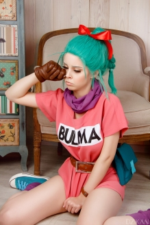 Cosplay Dragon Ball Bulma by Disharmonica