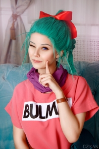 Dragonball Bulma Cosplay by Disharmonica