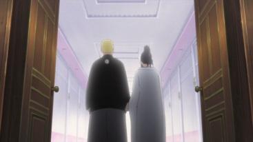 Hinata and Naruto walk