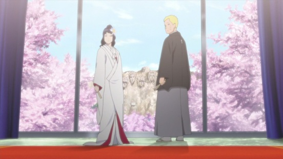 Hinata and Naruto's wedding